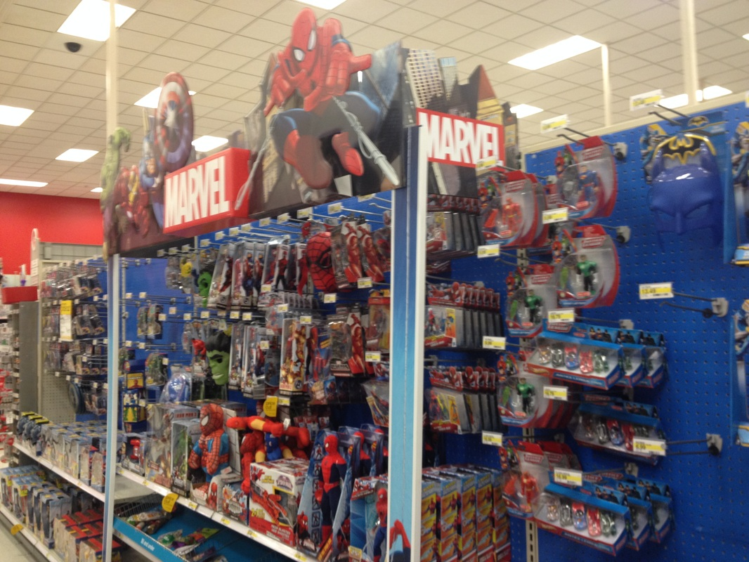 My Field Report Target Toy Department English 114b